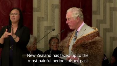 Prince Charles gets Maori welcome in New Zealand