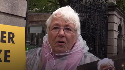 73-year-old grandmother goes on hunger strike in protest over climate change