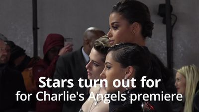 Stars attend UK premiere of Charlie's Angels