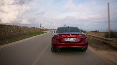 This is the updated Alfa Romeo Giulia and Stelvio