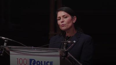 Priti Patel pledges to double maximum sentences for assaults to police officers