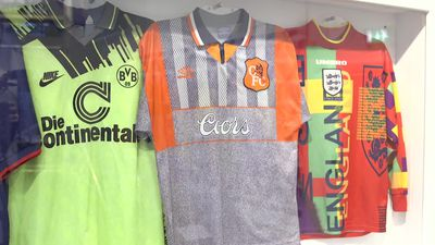 Museum celebrates football fashion