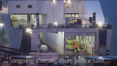 Lorry owner and driver 'co-operating fully' after 16 men found in trailer on ferry