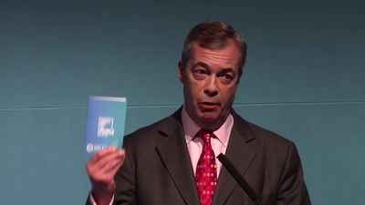 Nigel Farage unveils Brexit Party election pitch