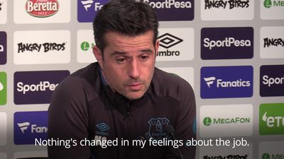 Everton: Silva ignoring pressure ahead of Liverpool clash