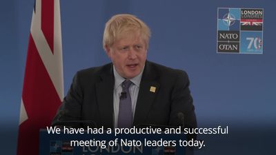 Boris Johnson: Nato is the most successful alliance in history