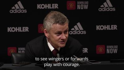 Solskjaer: Rashford played like he was in the playground