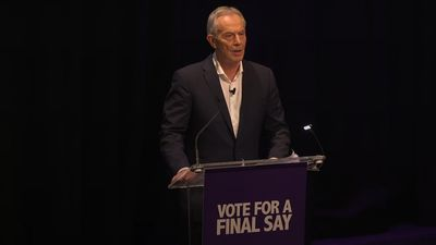 Tony Blair: We have six days to save our future