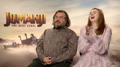 Jack Black bursts into fart song to leave Karen Gillan in stitches