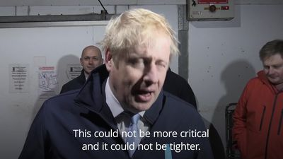 Boris delivers milk on final day of General Election campaign