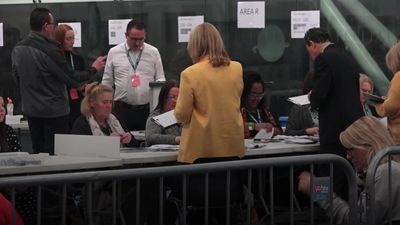 UK Election: Counting underway in Boris Johnson's constituency