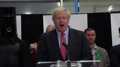 Boris Johnson's victory speech after winning his seat