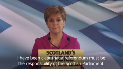 SNP leader Nicola Sturgeon plans second independence referendum bid