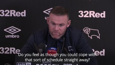 Rooney raring to go at Derby