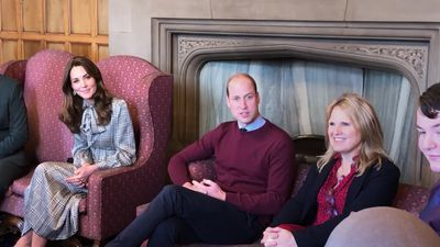 William and Kate visit Bradford amid tumultuous times for royal family