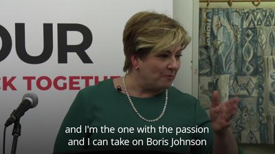 Emily Thornberry launches Labour leadership bid