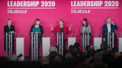 Labour leadership candidates vie for support at Liverpool hustings