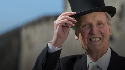Nicholas Parsons: Just a Minute host dies aged 96