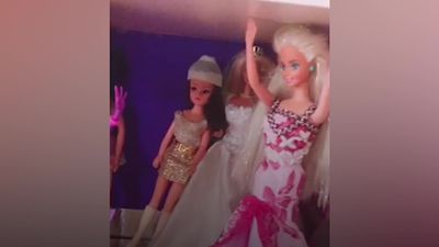 47-year-old PR executive shows off GBP20,000 Barbie collection