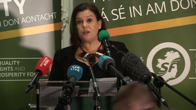 Mary Lou McDonald blasts 'arrogant' election rivals