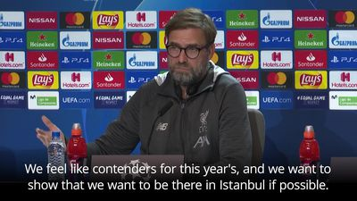 Klopp: Liverpool 'don't feel like the winners' of Champions League