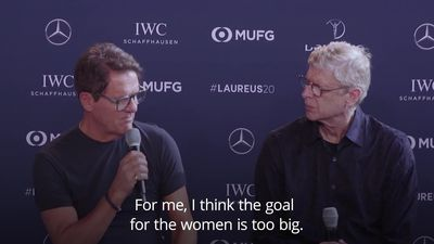 Fabio Capello: Football goals are too big for women