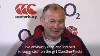 Eddie Jones apologises after making 'half-Asian' joke in press conference