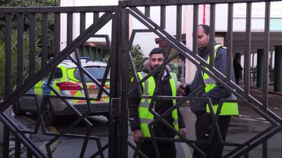 Man arrested over London mosque stabbing during prayers