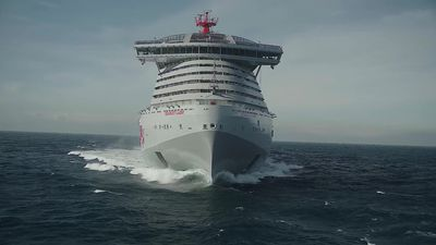 Sir Richard Branson's new luxury cruise line launches in Dover