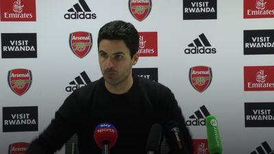 Mikel Arteta praises his team after playing three games in seven days