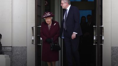The Queen visits MI5 headquarters in London
