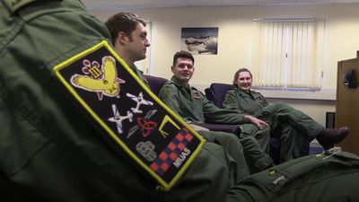 Aspiring young airmen and airwomen welcome delivery of training planes