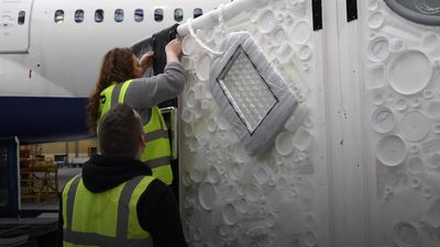 BA commissions eco-art to mark new green pledge