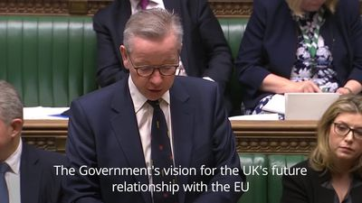 Gove: We will not trade away our sovereignty in Brexit negotiations