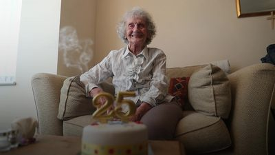 Great-grandmother to celebrate her 25th birthday on Leap Day