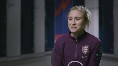 England captain Houghton helps launch The FA's 'Pledge of Positivity'