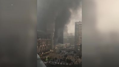 Fire breaks out near Gare de Lyon station in Paris