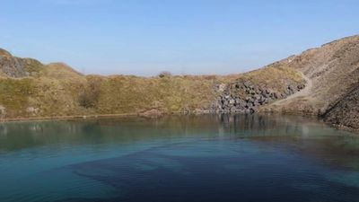 Buxton's 'blue lagoon' turned black to prevent gatherings
