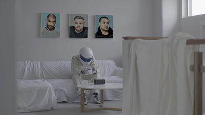 Top Gear's The Stig tries social distancing