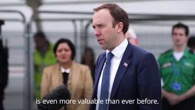 Matt Hancock: The NHS is even more valuable than ever before