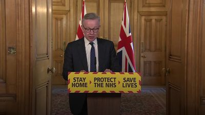 Michael Gove: New ventilators being manufactured in UK every day