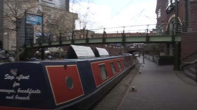 People urged to observe social distancing on canal paths