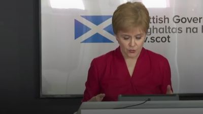 Nicola Sturgeon on Boris Johnson and Catherine Calderwood