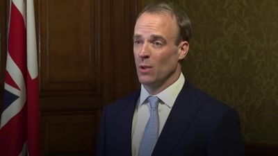 Dominic Raab: Boris Johnson is receiving excellent care in hospital