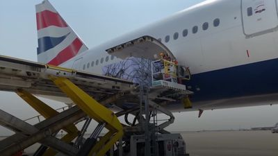 British Airways flies medical equipment to UK