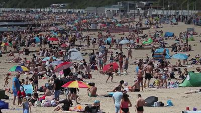 Britain bakes on Bank Holiday Monday