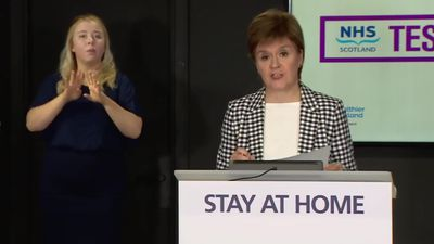 Nicola Sturgeon launches test-and-trace initiative in Scotland