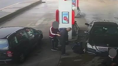 Man jailed for assault with crowbar at petrol station