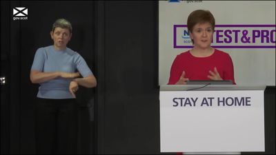 Nicola Sturgeon urges caution despite easing of lockdown measures