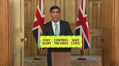 Rishi Sunak reveals changes to the Government's fulough scheme